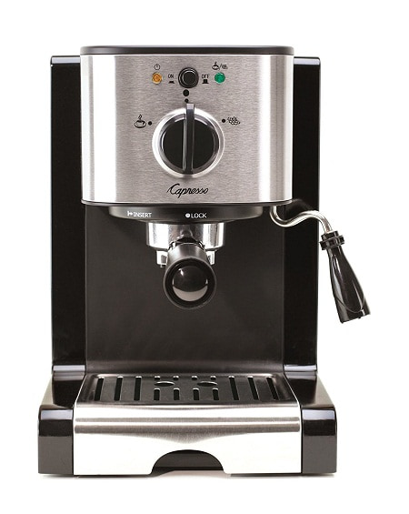 Capresso 116.04 Pump Espresso and Cappuccino Machine EC100