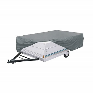 Classic Accessories 74203 Grey PolyPropylene Folding Camping Trailer Cover