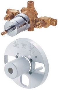 Danze WK330194 Shower Single Control Pressure Balance Mixing Valve