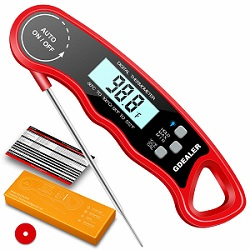 GDEALER DT9 Waterproof Digital Instant Read Meat Thermometer