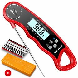 GDEALER DT9 Waterproof Digital Instant Read Meat Thermometer