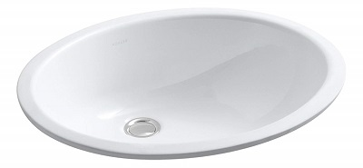 KOHLER K-2210-0 Caxton Undercounter Bathroom Sink