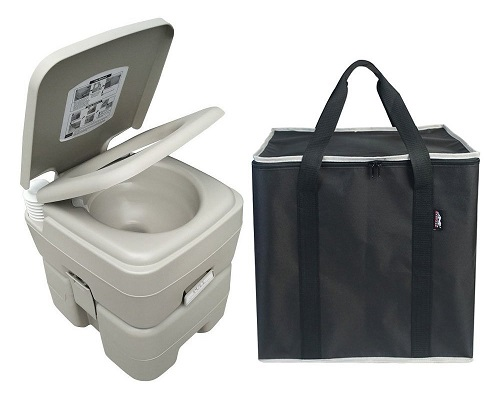 Leopard Outdoor T-Type Three Directional Flush Portable Travel Toilet