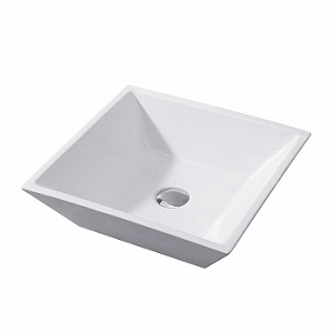 Luxier CS-006 Bathroom Porcelain Ceramic Vessel Vanity Sink