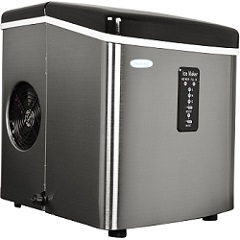 NewAir AI-1OOSS 28-Pound Portable Ice Maker