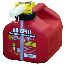 No-Spill 1415 Gallon Poly Gas Can