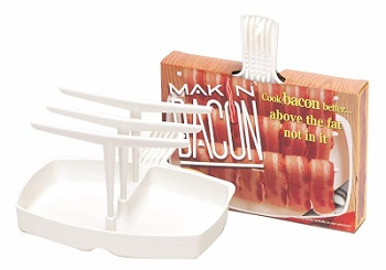 Original Makin' Bacon Microwave Bacon Rack