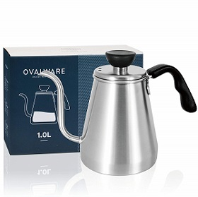 Ovalware Pour Over Coffee And Tea Kettle