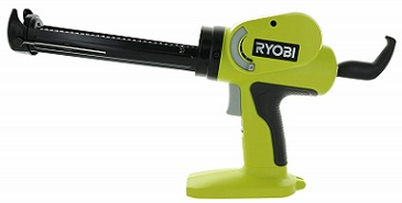 Ryobi P3106 Pistol Grip Discharge Rate Power Caulk Gun