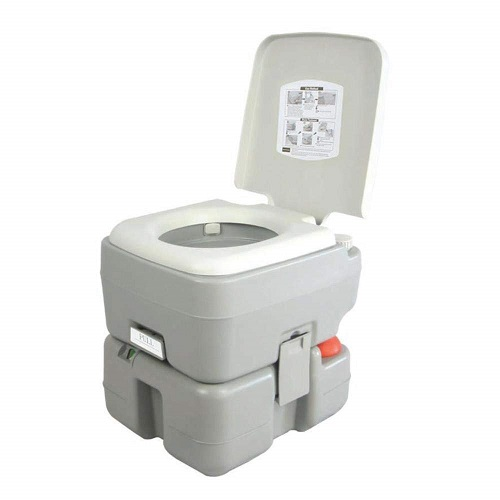 SereneLife Outdoor Portable Toilet