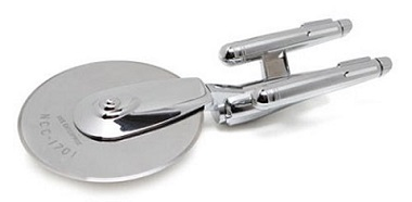 ThinkGeek Star Trek Enterprise Pizza Cutter