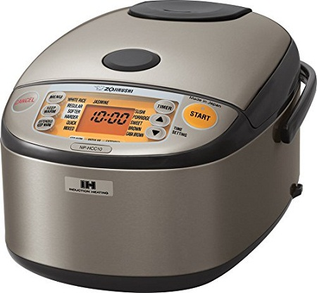 Zojirushi NP HCC1OXH Induction Heating System Rice Cooker and Warmer